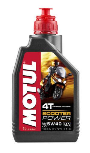 MOTUL МАСЛO 4Tмото синт Scooter Power 5w40/1L/
