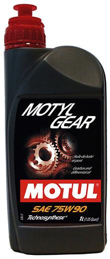 MOTUL МАСЛO транс Technosynthese75w90 Motylgear/1L