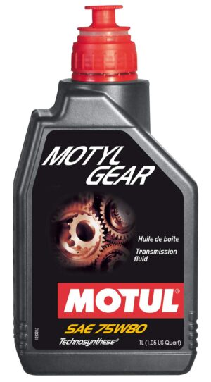 MOTUL МАСЛO транс Technosynthese75w80 Motylgear/1L