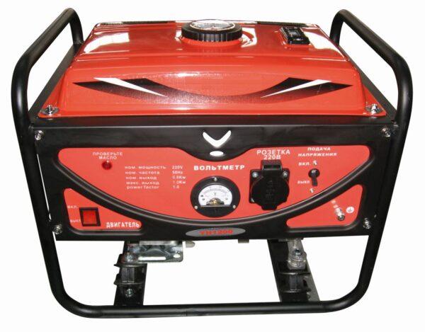 Генератор бензиновый 0,8 кВт-ручной (Дв YH154F)