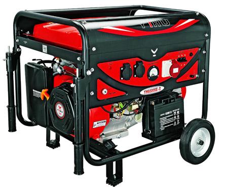Генератор бензиновый 1ф..5,5 кВт-ручн(Дв.YH188FE)